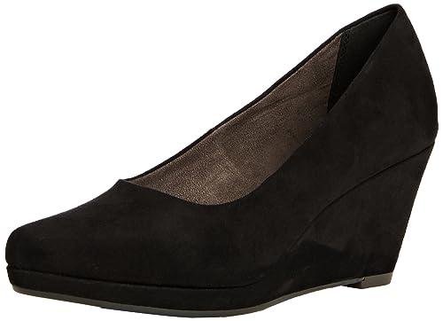nuevo lanzamiento los más valorados seleccione para oficial Tamaris 22434 - Zapatos de Cuña Cerrados de Material sintético para Mujer