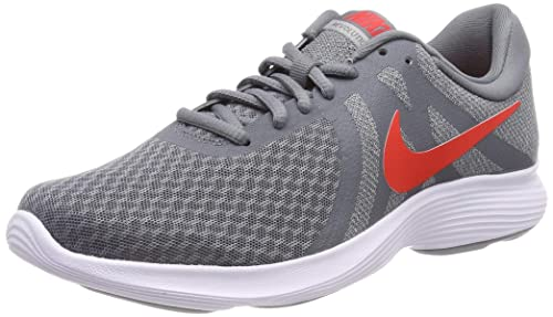 Schuhe NIKE Revolution 4 Eu AJ3490 013 Cool GreyHabanero Red
