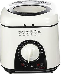 LLOYTRON Lloytron E6010Wi Kitchen Perfected Compact Deep Fryer, 1 Litre