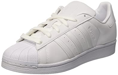 adidas Superstar, Baskets Femme, Blanc Footwear White/Core Black, 36 2/
