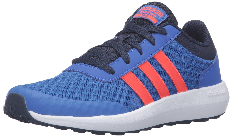 Buy adidas neo Boys' Cloudfoam Race K Sneaker, Blue/Infrared ...
