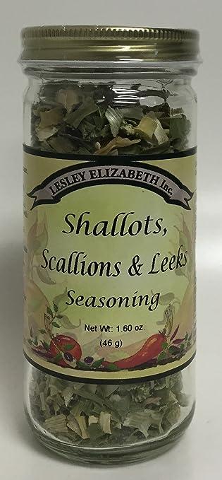 Shallots, Scallions and Leeks, 1.6oz, Lesley Elizabeth