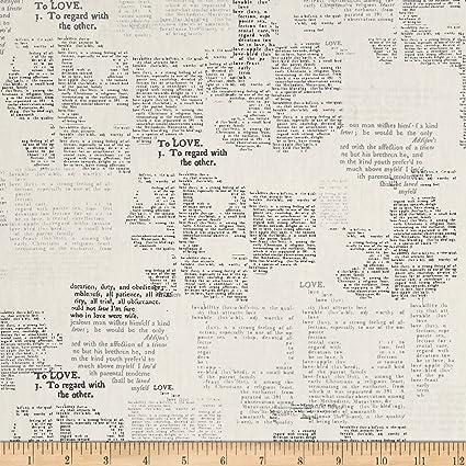 Amazon.com: Galería de Arte Cartas Amor Significado tela por ...