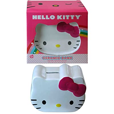 Sanrio Ceramic Head Shaped Coin Bank