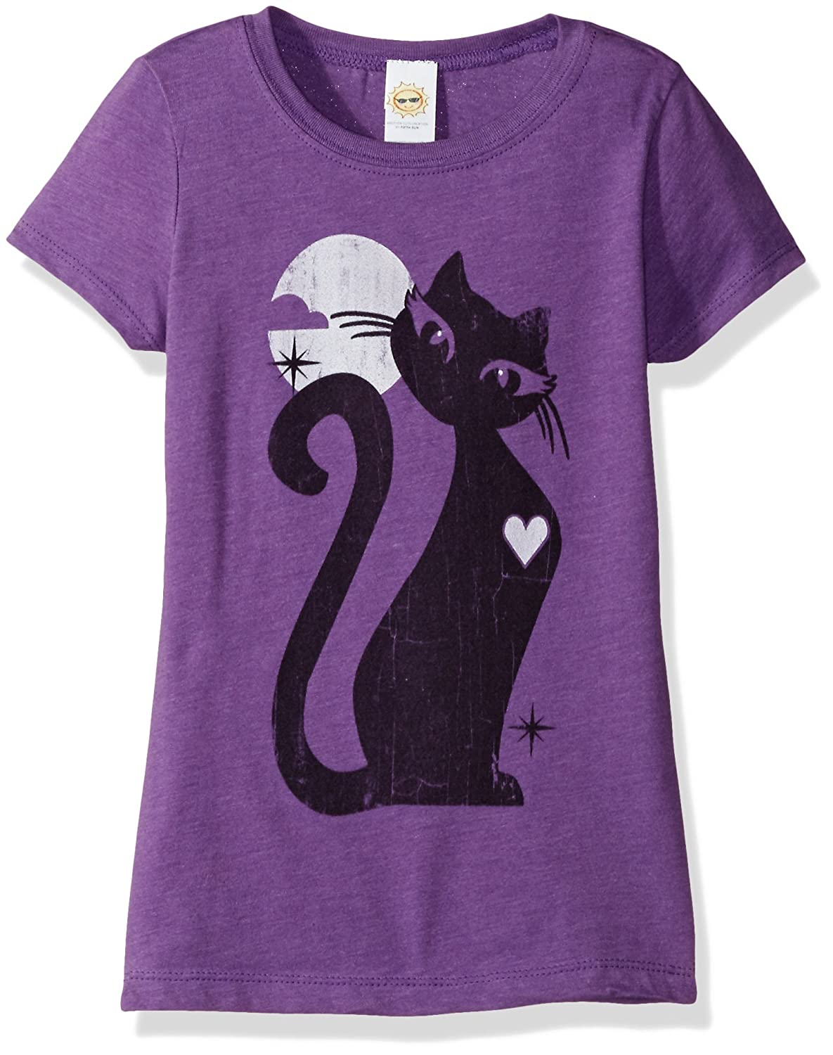 The Witching Hour T-Shirt by The Mountain Magicians Black Cat Full Moon S-5XL