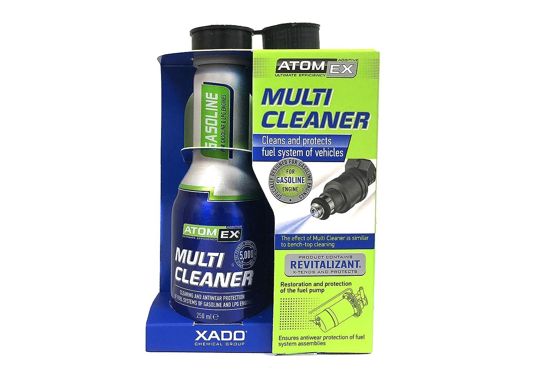 XADO ATOMEX Multi Cleaner Benzin Kraftstoff-Systemreiniger Injektor-Reiniger Einspritzdü sen-Reiniger - Additiv- 250ml 4333315752