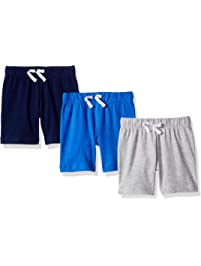 46ac8a1873e9 Amazon Essentials Baby Boys 3-Pack Pull-on Short