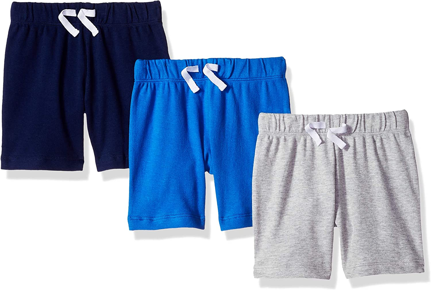 Essentials Baby Boys 3-Pack Pull-on Short