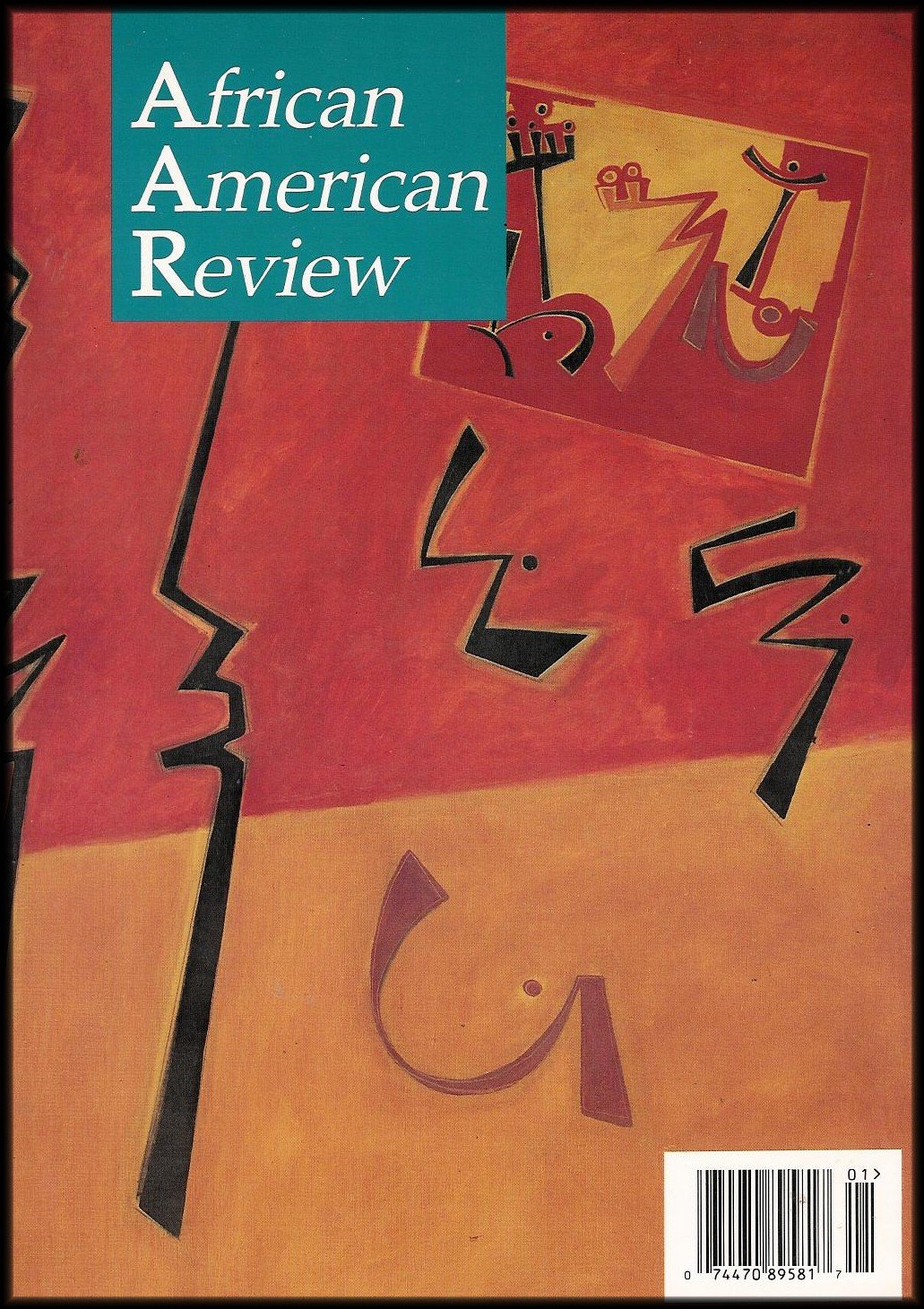 African American Review Cover Art