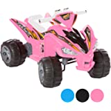 Charles Jacobs Kids Ride On Quad - Raptor Style - 12V Battery Powered Toy - Choice Of Colours