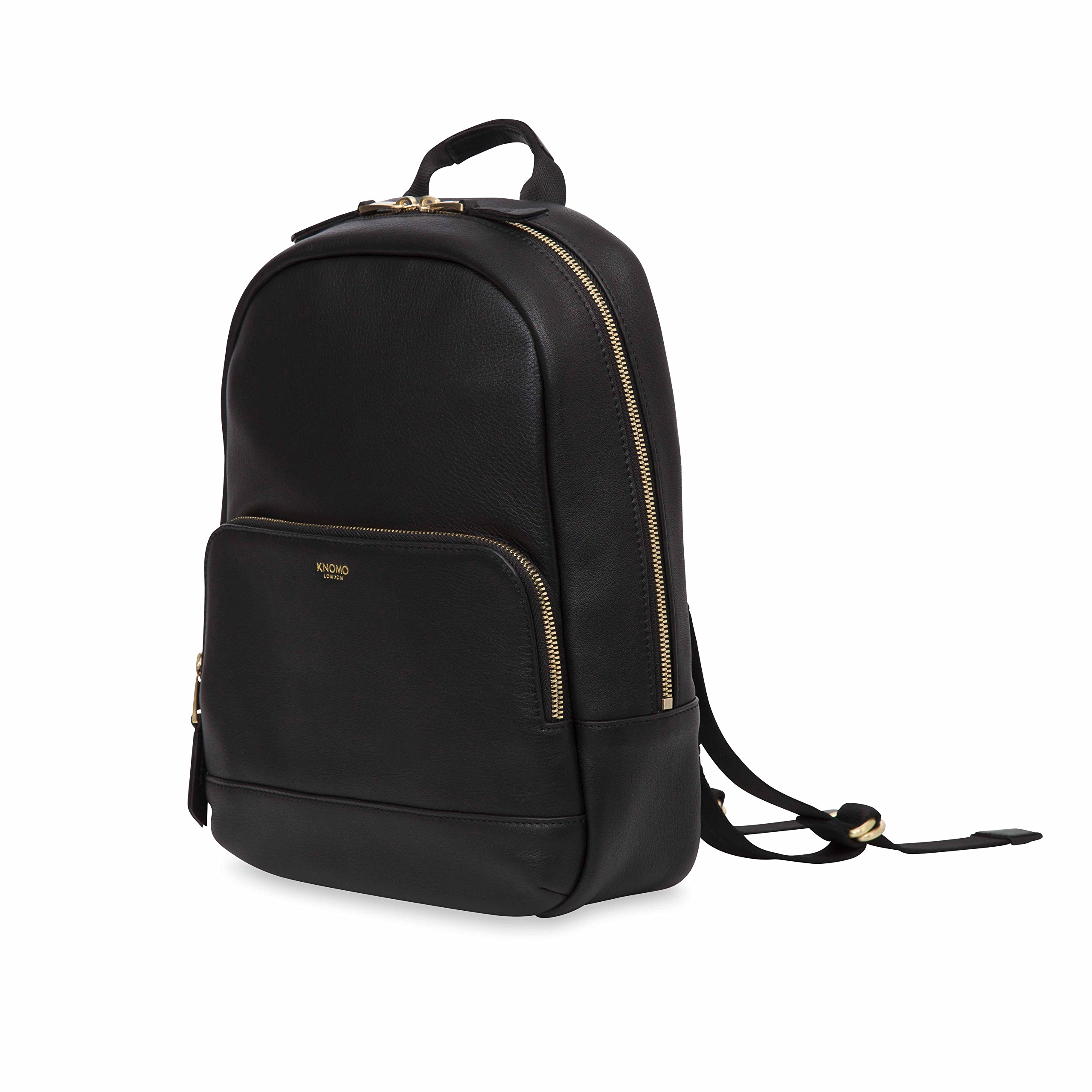 Knomo Luggage Women's Mini Mount Business Backpack, Black, One Size by Knomo