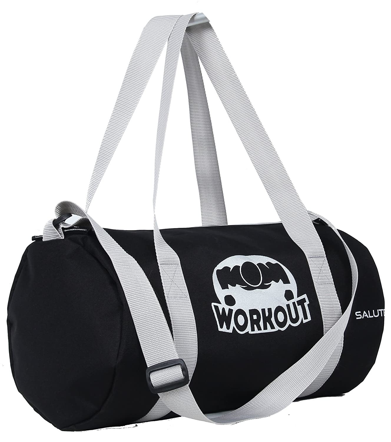 61415c531a SALUTE HUNK WORKOUT 25L Black Duffle Gym Bag  Amazon.in  Bags ...