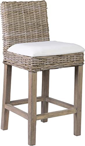 East At Main Nisha Counter Stool, Grey