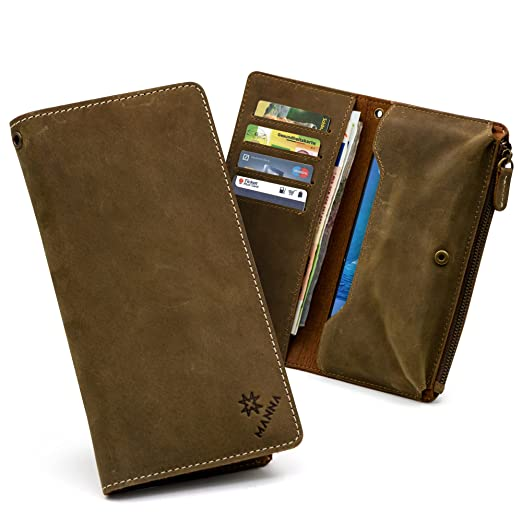 10 opinioni per MANNA Smart Wallet | Borsello cover per Smartphone con Display da fino a 6