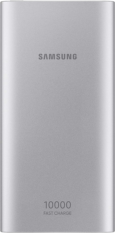 Samsung 10,000 mAh USB-C Battery Pack, Silver Ión de litio 1000mAh batería recargable: Amazon.es: Electrónica