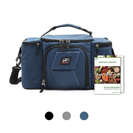 Amazon.com: RitFit - Bolsa de almuerzo para adultos con ...
