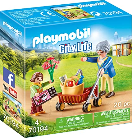 Amazon.com: Playmobil 70194 City Life - Juego de rol de ...