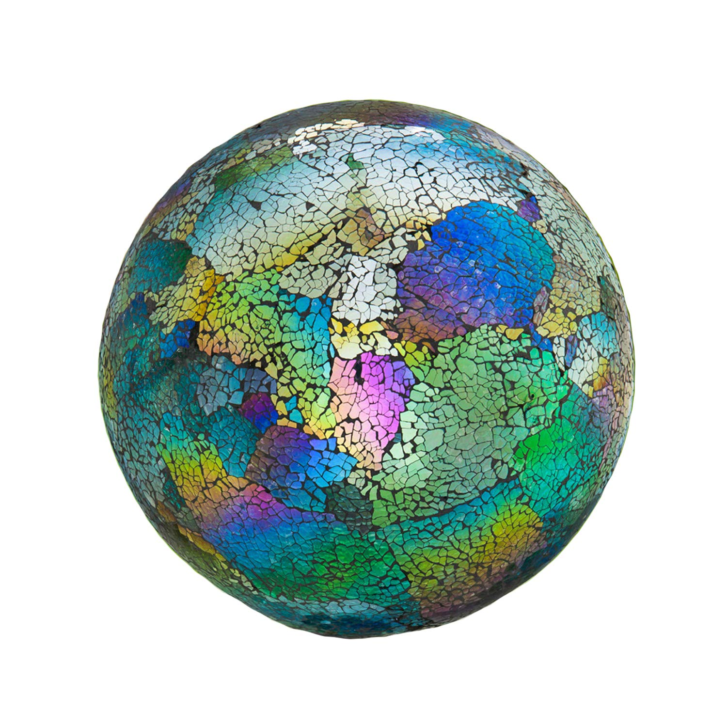 10 inch Mosaic Colorful Gazing Ball for Yard