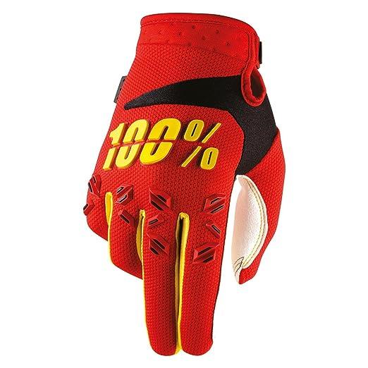 100/% Prozent Airmatic Handschuhe schwarz orange MTB DH MX Motocross Enduro Quad