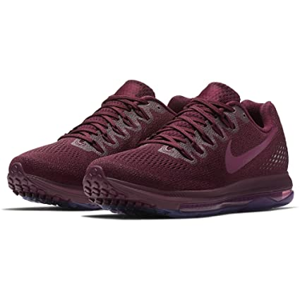 huge selection of bca32 15ca6 Image Unavailable. Image not available for. Color  Nike Womens Zoom All Out  Low Running Shoe, Bordeaux Tea Berry-Pure Platinum