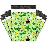 10x13 (100) St Patricks Day Designer Poly Mailers Shipping Envelopes Premium Printed Bags