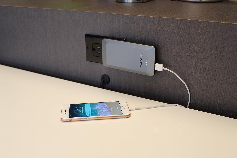 Amazon.com: myCharge hogar & Go cargador portátil 4000 mAh ...