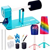 LFSUM Cup Turner for Crafts Tumbler Cup Spinner Machine Kit,Turner DIY Glitter Epoxy Tumblers Safety Switch (Mint Blue)