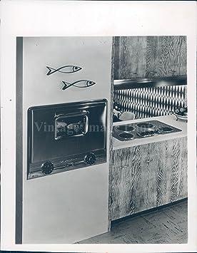 1954 Photo Westing House Range - Estufa Eléctrica de Cocina, Diseño Vintage: Amazon.es: Hogar