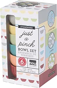 Now Designs Pinch Bowls, Set of 6