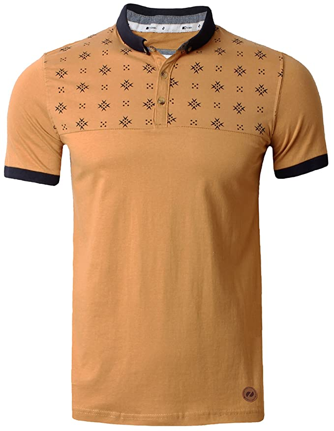 9f930354 Mens Polo Shirt T-shirt Top Graphic Pattern Short Sleeve Summer D Code  FILTER: Amazon.co.uk: Clothing
