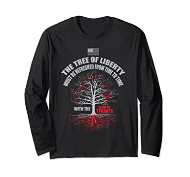 b2fd7e0d4fab82 Amazon.com  Blood of Tyrants Long Sleeve T-Shirt Liberty Tee  Clothing