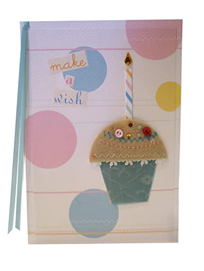 Amazon meri meri make a wish cupcake birthday greeting card meri meri make a wish cupcake birthday greeting card with coordinating envelope m4hsunfo