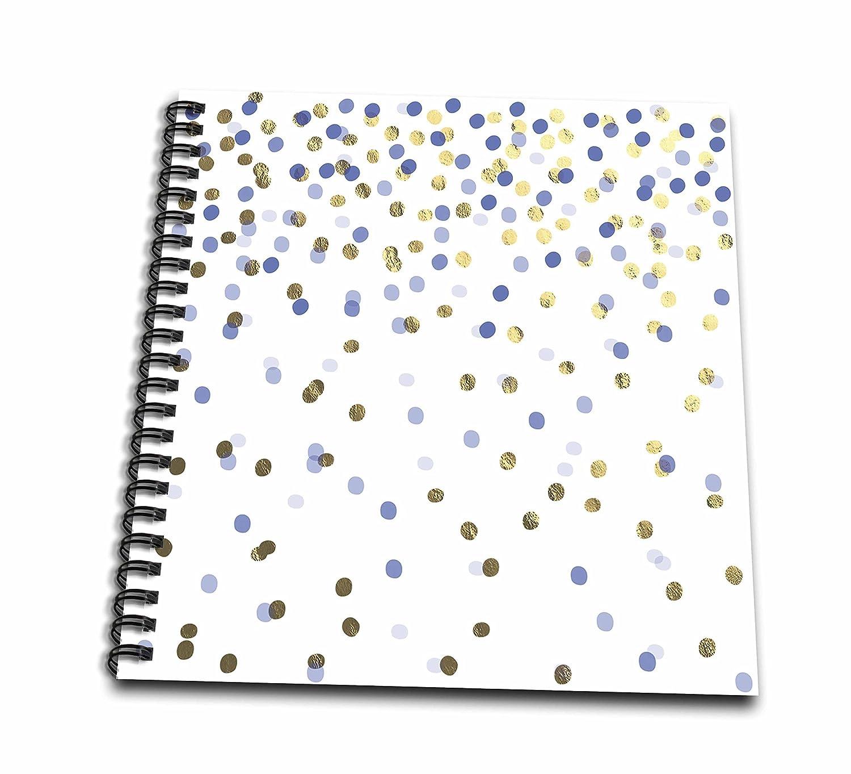 3dRosa, Blau und Gold), mit Malbuch, mehrfarbig, 20,3 x 20,3 cm B071JWP899  | Garantiere Qualität und Quantität