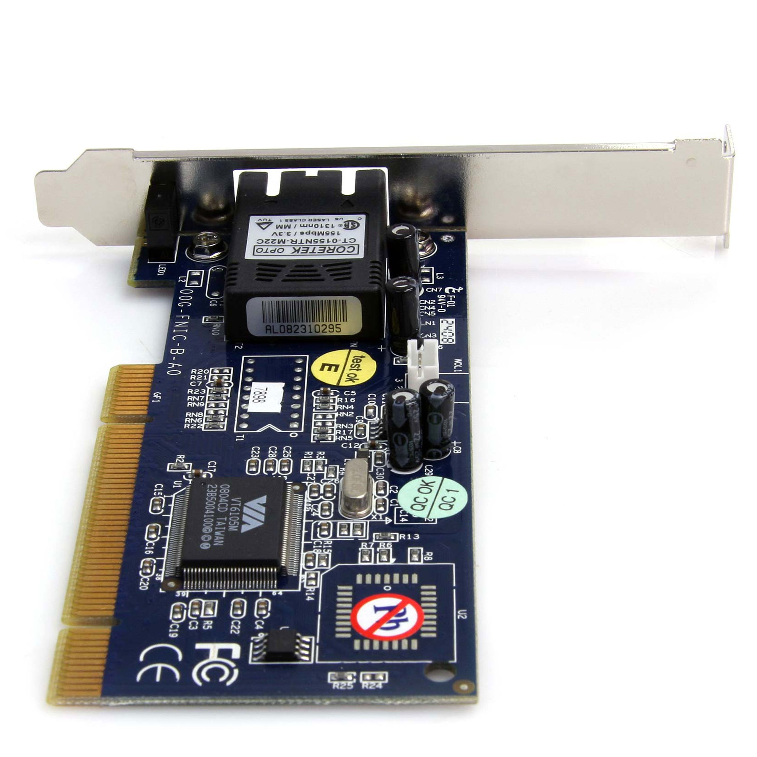 StarTech.com 100Mbps Full/Low Profile Ethernet Multi Mode SC Fiber PCI NIC Card - 2 KM (PCI100MMSC) by StarTech (Image #4)