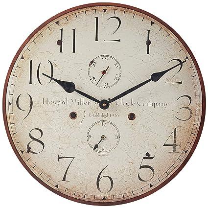 Amazon Com Howard Miller 620 314 Original Iii Wall Clock Home
