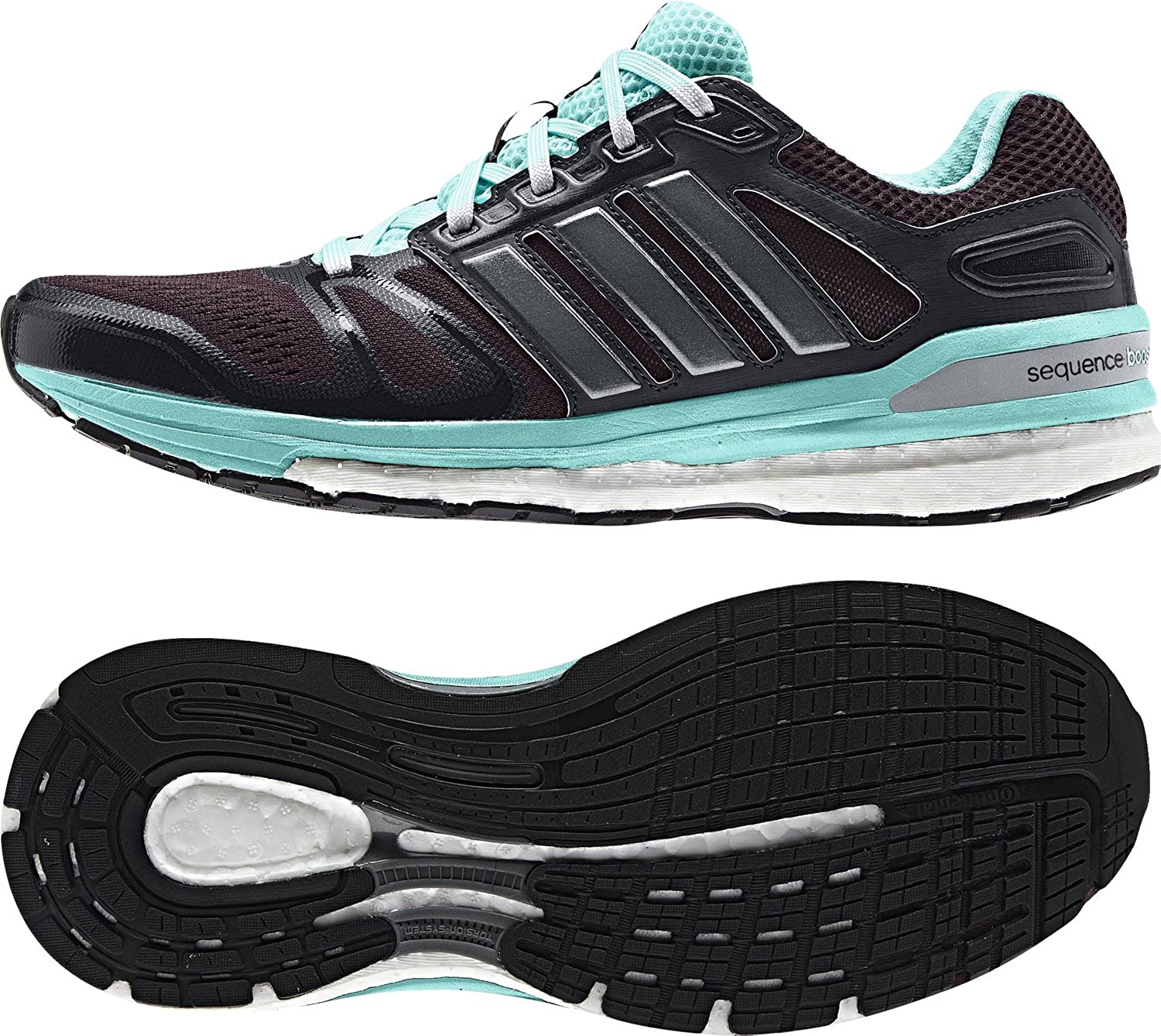 63cae1ee35f8f adidas Women s Supernova Sequence 7 Running Shoes Grey Size  5.5   Amazon.co.uk  Shoes   Bags