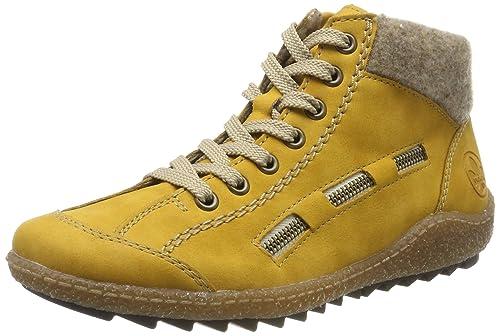 Rieker Damen Sneaker Gelb | Trendbereich