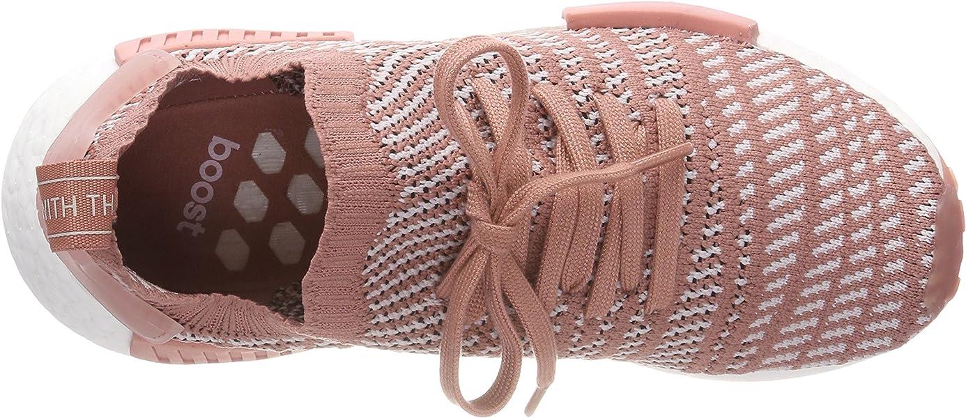 buy online 0ee88 38145 adidas Damen NMDR1 STLT Primeknit Schuh, Rosa (RoscenTinorcFtwbla 000)