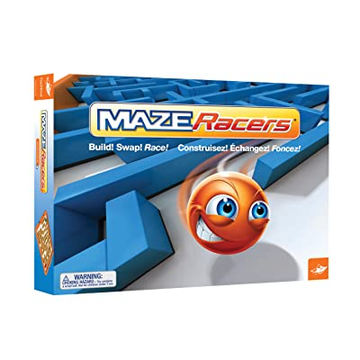 Maze Racers - The Exciting Maze Building and Racing Game: Toys & Games