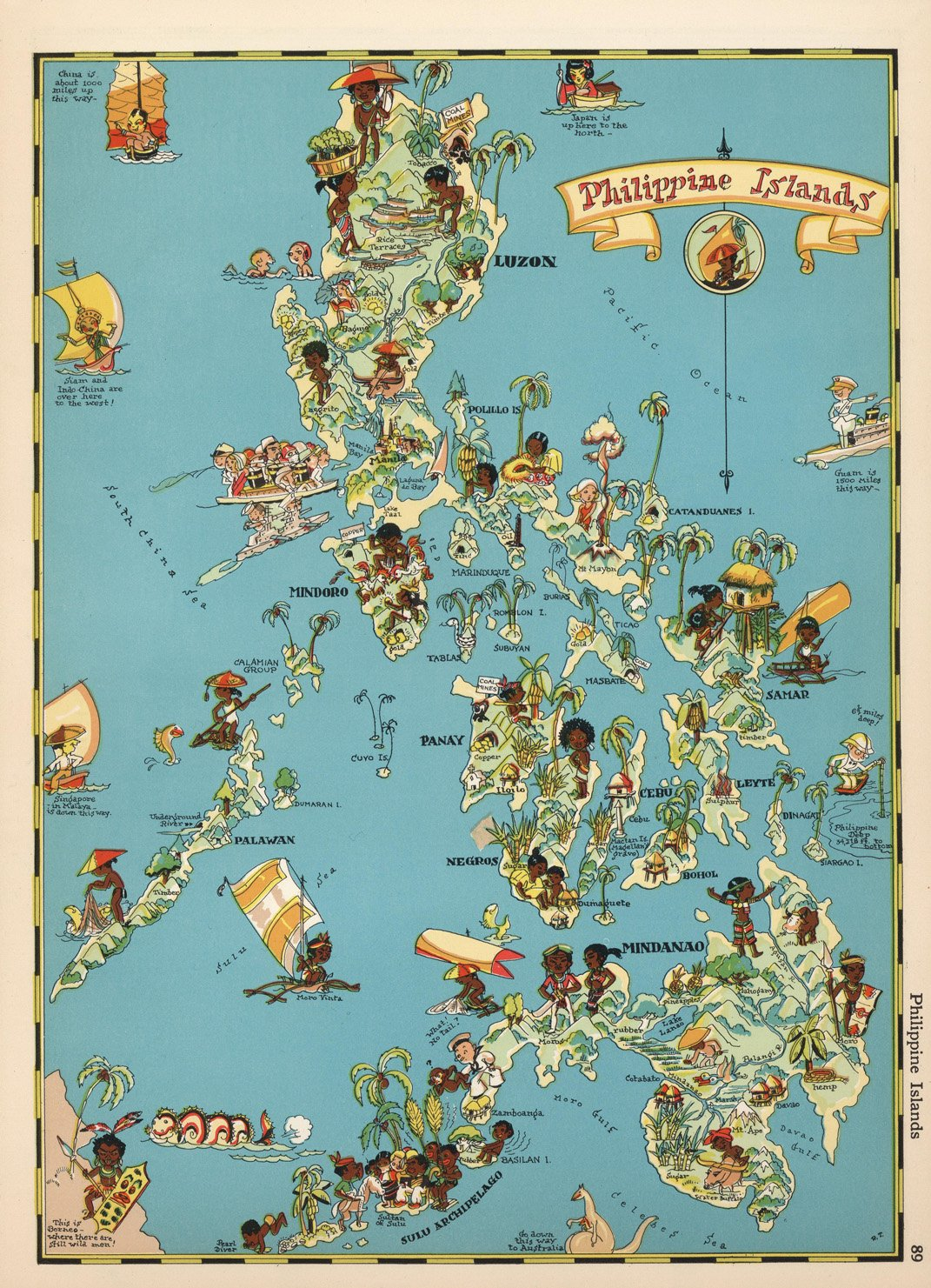 e38c16e36f427 Map Poster - Philippine Islands. - 24