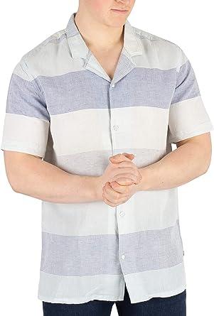 Levis Hombre Camisa De Manga Corta Cubano, Azul