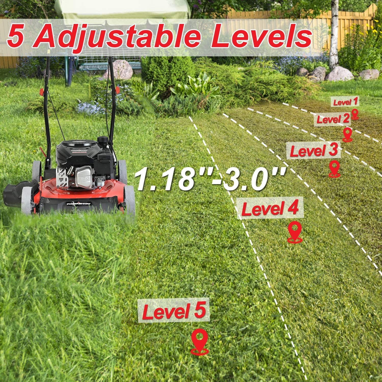 PowerSmart Gas Powered Push Lawn Mower