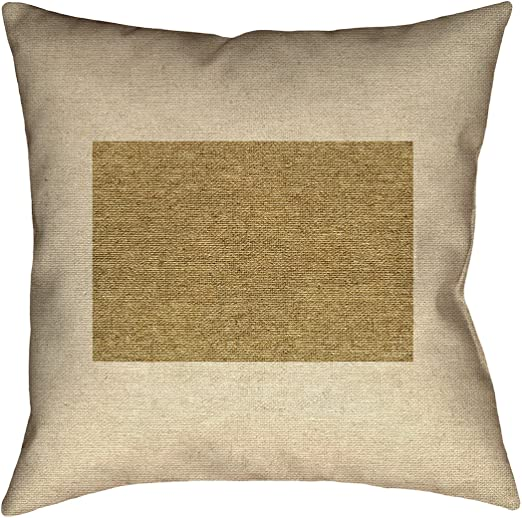 ArtVerse Katelyn Smith 40 x 40 Floor Double Sided Print with Concealed Zipper /& Insert California Canvas Pillow