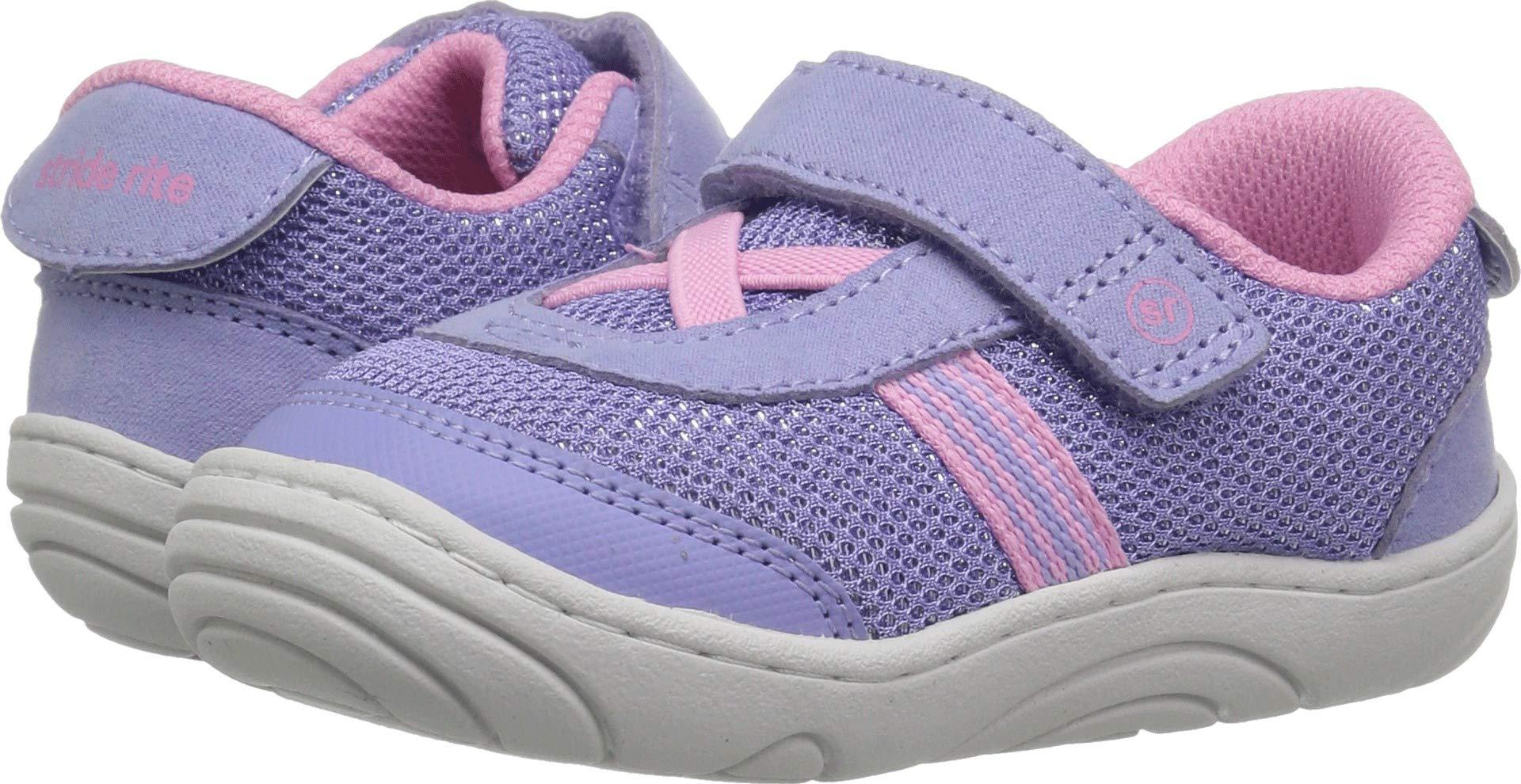 Stride Rite Girls' SR-Jackson Sneaker, Purple/Pink, 6 M US Toddler by Stride Rite