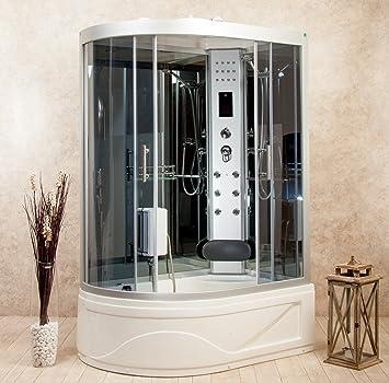 Cabina de ducha hidromasaje con bañera Florence2 115 x 90 derecha ...