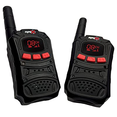 SpyX Spy Walkie Talkies - Made for Small Hands and Doubles as a Spy Toy for Buddy Play. Perfect Addition for Your spy Gear Collection!: Toys & Games