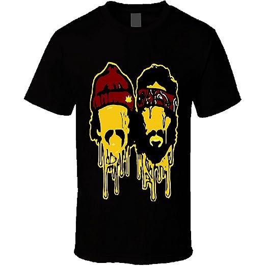 Cheech and Chong Dab Weed T Shirt Marijuana Stoner Dope 420 (medium, black)