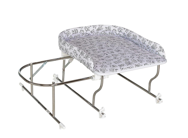 Geuther - - - Bade-Wickel-Kombination Varix, ohne Badewanne, für Badewannen mit Innenmaß 50 - 68 cm tiefe, Sterne 058c83