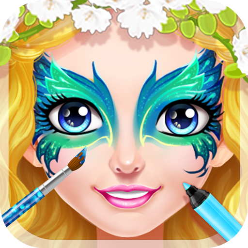 Face Paint Princess Salon - Makeup, Makeover, Dressup and Spa - Shape App Face