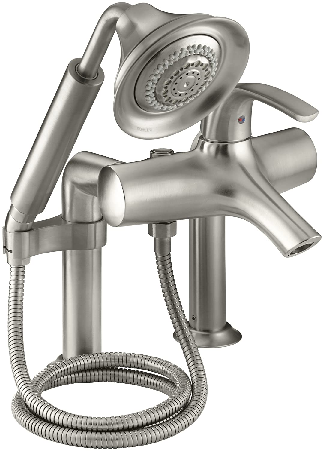 kohler roman tub faucet with hand shower. KOHLER K 18486 4 CP Symbol Roman Bath Filler  Polished Chrome Bathtub And Showerhead Faucet Systems Amazon com
